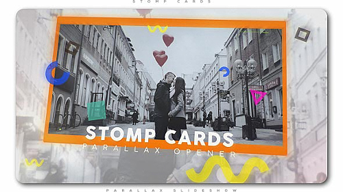 Stomp Cards Parallax Opener - Project for After Effects (Videohive)