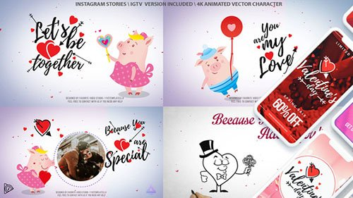 Valentine's Day Love Letter - Project for After Effects (Videohive)