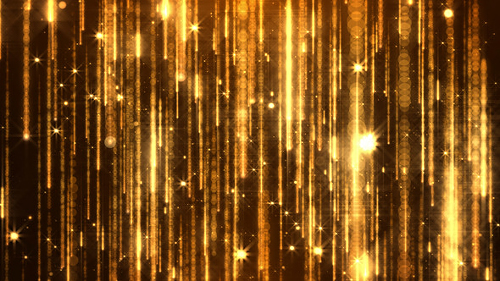 Golden Particles - Project for After Effects (Videohive)