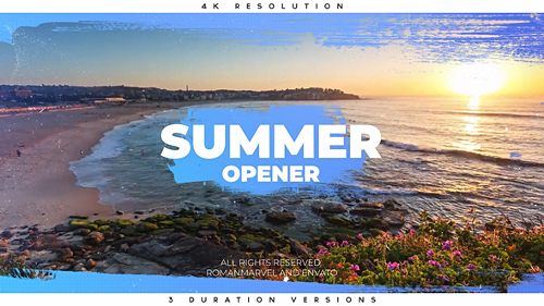 Summer Opener - Project for After Effects (Videohive)