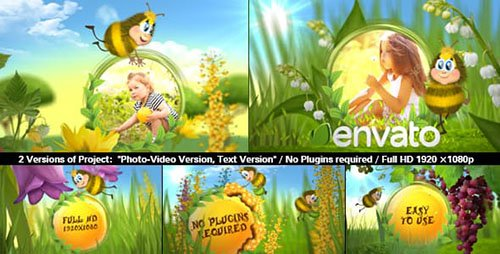 Templates adobe - effects book projects after fairy