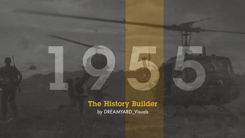 The History Timeline - Project for After Effects (Videohive)