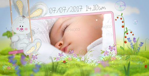 Fairy Tale Baby Album | Baby Book - Project for After Effects (Videohive)