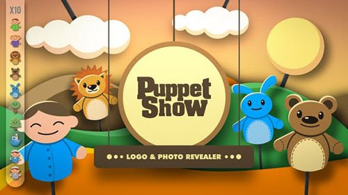Puppet Show - Revealer - Project for After Effects (Videohive)
