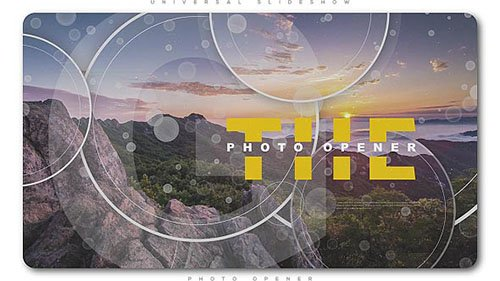 Universal Slideshow Photo Opener - Project for After Effects (Videohive)