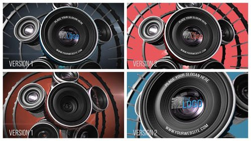 Photography Lens Logo 2 - Project for After Effects (Videohive)
