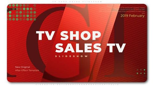 TV Shop Sales Slideshow - Project for After Effects (Videohive)