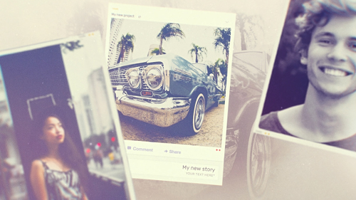 Memories Slideshow - Project for After Effects (Videohive)