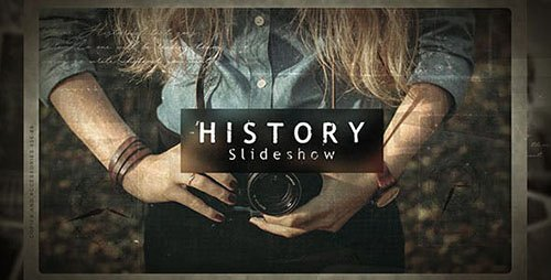 History Slideshow 21405907 - Project for After Effects (Videohive)