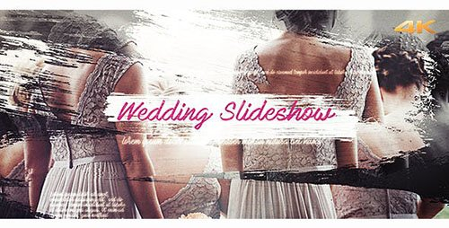 Wedding Brush Slideshow - Project for After Effects (Videohive)
