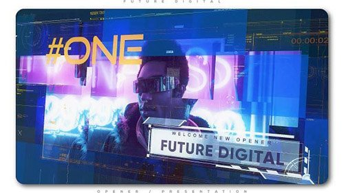 Future Digital Opener Presentation - Project for After Effects (Videohive)
