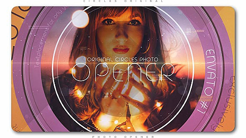 Circles Original Photo Opener - Project for After Effects (Videohive)