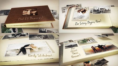 Book Of Memories 23576775 - Project for After Effects (Videohive)