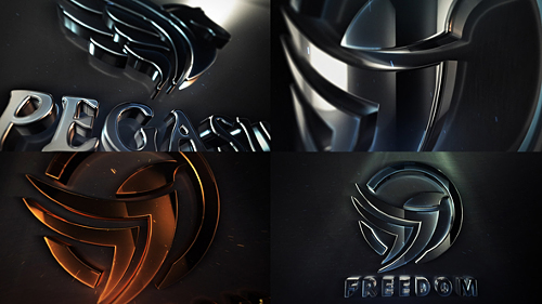 Clean Elegant 3D Logo Reveal - Project for After Effects (Videohive)