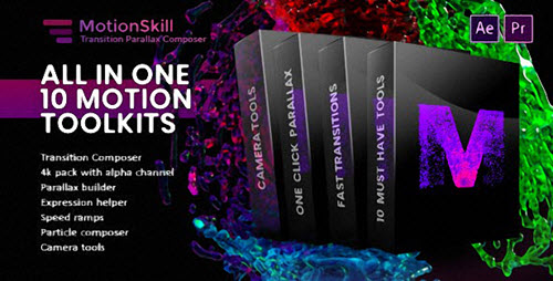 All in One Motion, Transition, Parallax, Expression ToolKit - Add Ons for After Effects & Premiere Pro (Videohive)