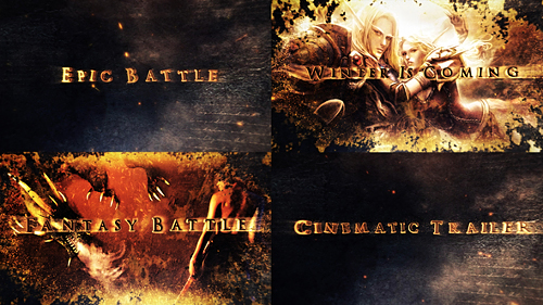 Legendary Epic Fantasy Intro - Project for After Effects (Videohive)