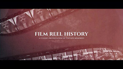 Film Reel History - Project for After Effects (Videohive)