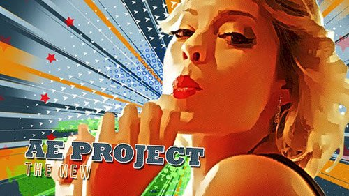 Freeze Frame Pop Art Retro Trailer - Project for After Effects (Videohive)