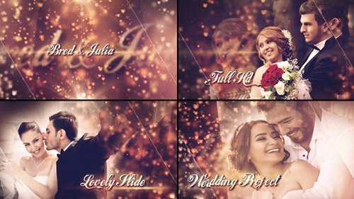 Lovely Wedding Slideshow - Project for After Effects (Videohive)
