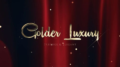 Golden Luxury Red Carpet Titles - Project for After Effects (Videohive)