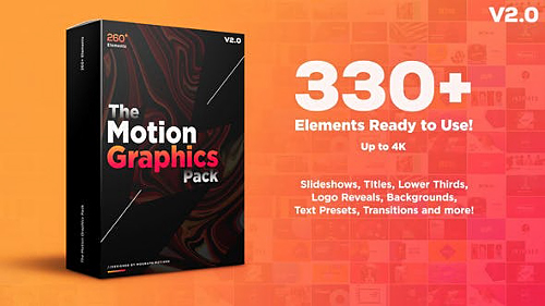 Motion Graphics Pack V2 - Project for After Effects (Videohive)