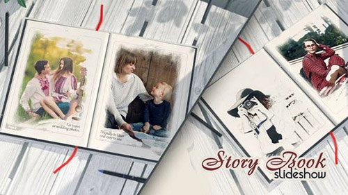 Story Book 23874156 - Project for After Effects (Videohive)