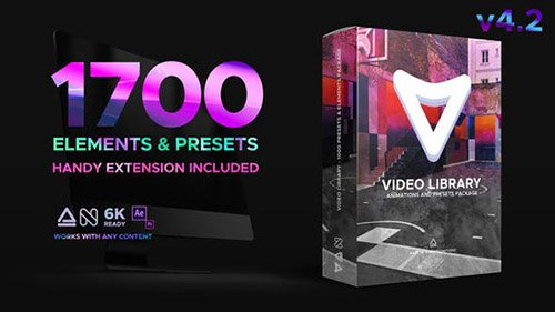 Video Library - Video Presets Package V4.2 - Project for After Effects (Videohive)