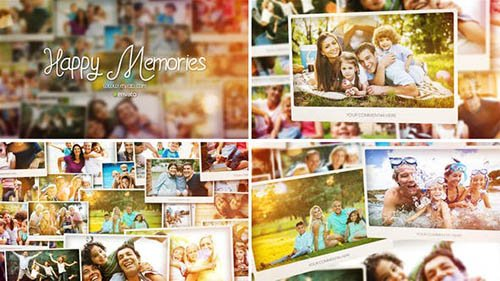 Happy Memories Slideshow - Project for After Effects (Videohive)