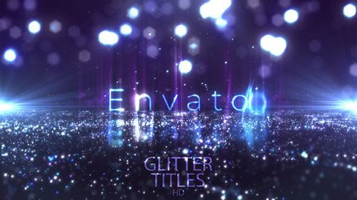 Glitter Fashion Titles - Project for After Effects (Videohive)