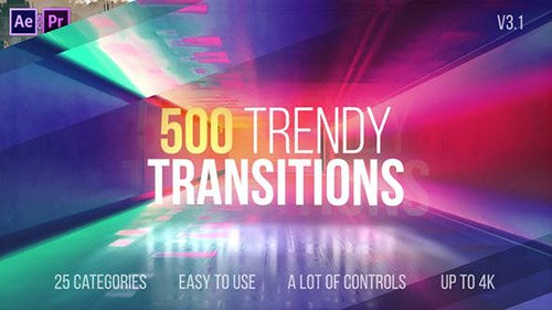 Transitions 22114911 - v3.1 - Project for After Effects (Videohive)