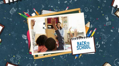Back to School Slideshow - Project for After Effects (Videohive)