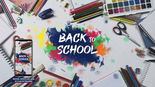 School Stop Motion - Project for After Effects (Videohive)