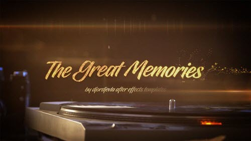 The Great Memories - Project for After Effects (Videohive)