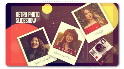 Retro Photo Slideshow - Project for After Effects (Videohive)