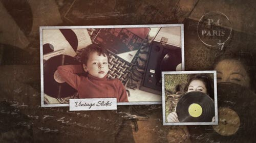 Vintage Slideshow 21305165 - Project for After Effects (Videohive)
