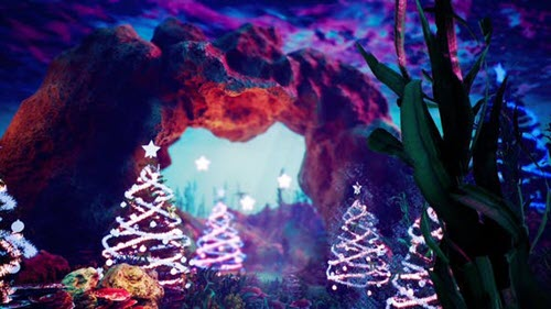 Blue Christmas - Project for After Effects (Videohive)
