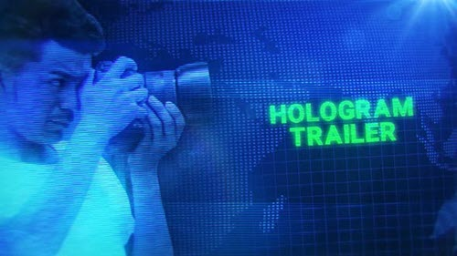 Hologram Trailer - 24881350 - Project for After Effects (Videohive)