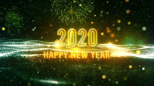 Wish You Happy New Year 2020 V3 - Motion Graphics (Videohive)