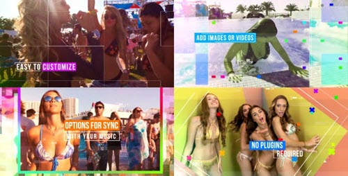 Crazy Party 21403635 - Project for After Effects (Videohive)