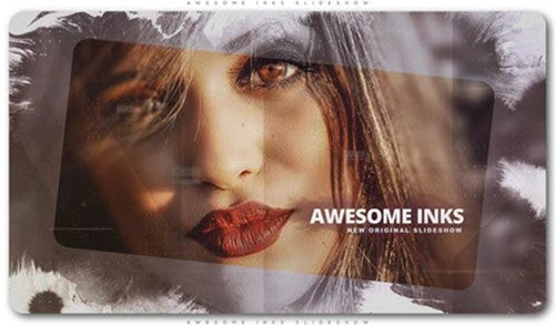 Awesome Inks Slideshow - Project for After Effects (Videohive)