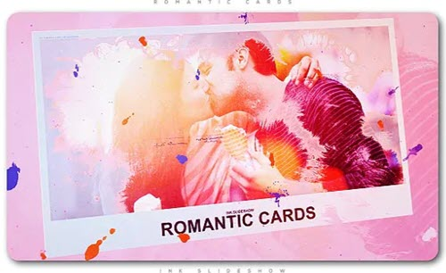 Romantic Cards Ink Slideshow - Project for After Effects (Videohive)