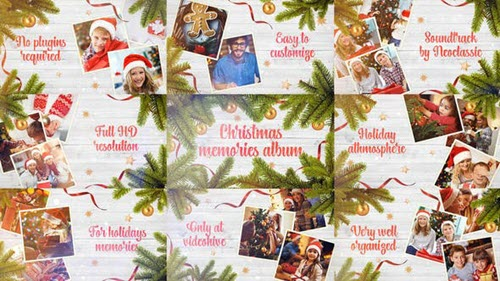 Christmas Memories Album 25131654 - Project for After Effects (Videohive)