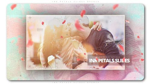 Ink Petals Slides Opener - Project for After Effects (Videohive)
