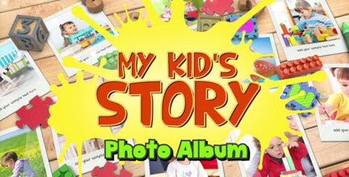 Kid's Photo Album - Project for After Effects (Videohive)
