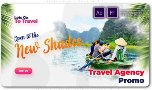 Travel Agency Promo Lets Go - 25559713  - Project for After Effects (Videohive)