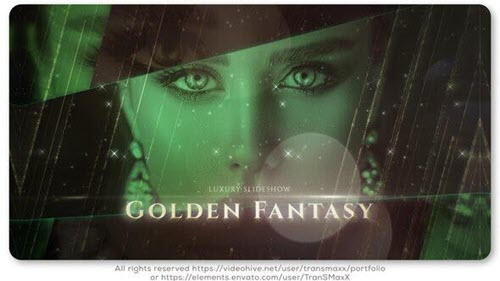 Golden Fantasy Luxury Slideshow - 25543195 - Project for After Effects (Videohive)