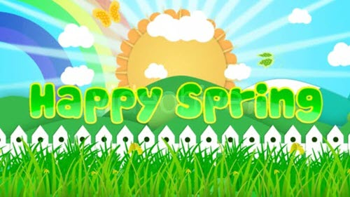 Happy Spring 6073095 - Project for After Effects (Videohive)