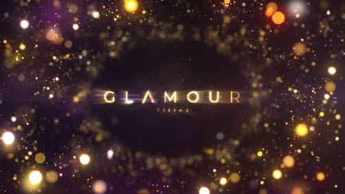 Glamour Titles 23320629 - Project for After Effects (Videohive)