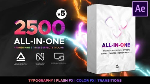 Transitions and Effects - 23955941 - V5 - Project for After Effects (Videohive)