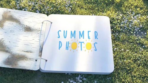 Summer Photo Album - 24115694 - Project for After Effects (Videohive)